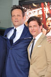 Vince Vaughn & James Marsden Royalty Free Stock Photography