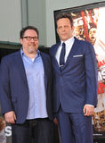 Vince Vaughn & Jon Favreau Royalty Free Stock Photos
