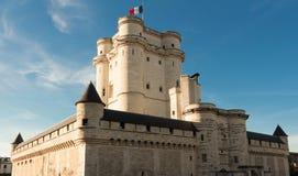 Vincennes城堡,法国 库存照片