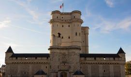 Vincennes城堡,法国 免版税图库摄影
