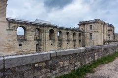 Vincennes,巴黎城堡的墙壁  法国 皇家堡垒第14 - 17世纪 免版税库存照片