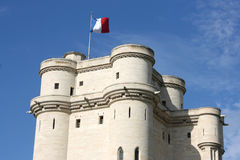 Vincennes castle Stock Image