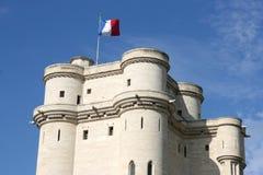 Vincennes castle stock image