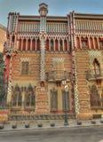Vincens Barcelona exterior España de las casas Fotos de archivo