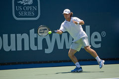 Vincent Spadea at the Los Angeles Tennis Open Royalty Free Stock Image