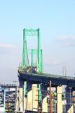 Vincent Thomas Bridge en San Pedro Foto de archivo libre de regalías