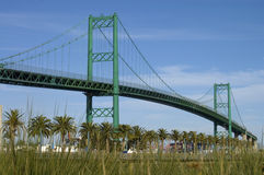 Vincent Thomas Bridge, San Pedro Royalty Free Stock Images
