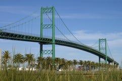 Vincent Thomas Bridge, San Pedro Royalty-vrije Stock Afbeeldingen