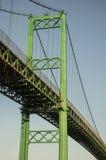 Vincent Thomas Suspension Bridge San Pedro Royalty Free Stock Photo