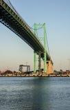 Vincent Thomas Suspension Bridge San Pedro Stock Photo