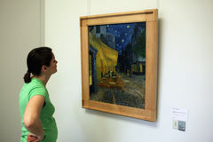 Vincent van Gogh στο μουσείο τροχών Kroller, Otterlo Στοκ φωτογραφία με δικαίωμα ελεύθερης χρήσης