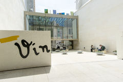 Vincent Van Gogh Foundation Arles-Haupteingang Lizenzfreies Stockbild