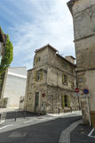 Vincent Van Gogh Foundation Arles street view Royalty Free Stock Images