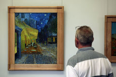 Vincent van Gogh no museu do Muller de Kroller, Otterlo Fotografia de Stock Royalty Free