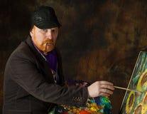 Vincent van Gogh portrait of dedication Royalty Free Stock Photos