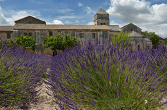 Vincent van Gogh's Asylum in Saint-Remy, France Stock Image