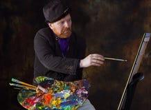 Vincent van Gogh stående av dedikation Royaltyfri Foto