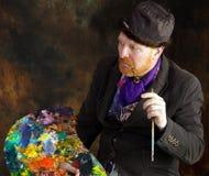 Vincent van Gogh stående av dedikation arkivfoton