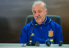 Vincente del Bosque Obraz Royalty Free