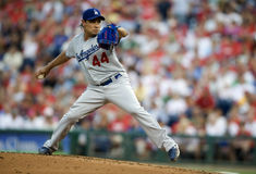 Vincente Padiila. Pitcher, Los Angeles Dodgers Royalty Free Stock Photo