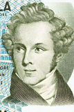 Vincenzo Bellini portrait. From Italian money Stock Images