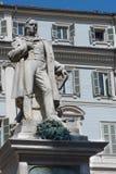 Vincenzo Gioberti Statue in Turin, Italy Stock Photos