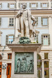 Vincenzo Gioberti Statue in Turin, Italy Royalty Free Stock Photos