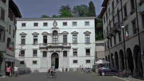 Vincenzo Joppi Civic Library in Udine stock videobeelden