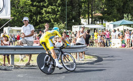 Vincenzo Nibali - The Winner of Tour de France 2014 Stock Photo