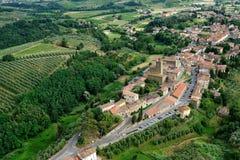 Vinci-Италия стоковая фотография rf