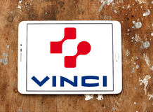 Vinci construction company logo Stock Images