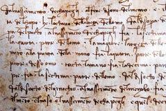 vinci för da-leonardo-manuskript Royaltyfri Foto