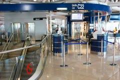 vinci för leonardo för flygplatsda fiumicino Royaltyfri Foto