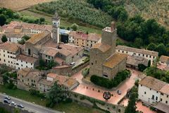 Vinci-Itália imagens de stock royalty free