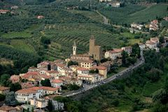 Vinci-Italië Stock Foto's