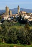 Vinci-Panoramic view royalty free stock photos