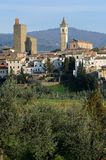 Vinci-Panoramic view stock images