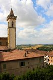 Vinci village in Tuscany Stock Photography