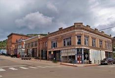 Vincitore del centro, Colorado fotografia stock libera da diritti