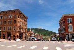 Vincitore del centro, Colorado immagini stock