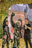 Vincitore del cosplay 7 fantastici del mondo di Oishi Immagini Stock Libere da Diritti