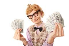 Vincitore di lotteria Immagine Stock