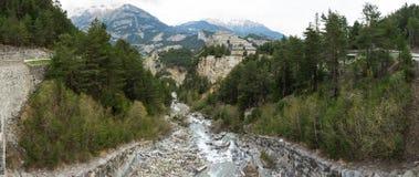 Vincitore-Emmanuel forte nel parco nazionale di Vanoise Immagine Stock Libera da Diritti