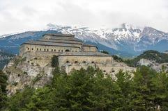 Vincitore-Emmanuel forte nel parco nazionale di Vanoise Immagine Stock
