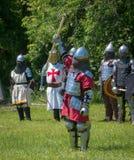 Vincitore - festival medievale del villaggio superiore del Canada Fotografia Stock Libera da Diritti