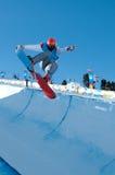 Vincitore Habermacher, Giochi Olimpici della gioventù Fotografia Stock