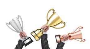 vincitori Immagini Stock
