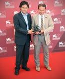 Vincitori dei premi al settantesimo festival cinematografico di Venezia fotografia stock