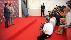 Vincitori dei premi al settantesimo festival cinematografico di Venezia immagine stock