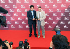 Vincitori dei premi al settantesimo festival cinematografico di Venezia fotografie stock libere da diritti